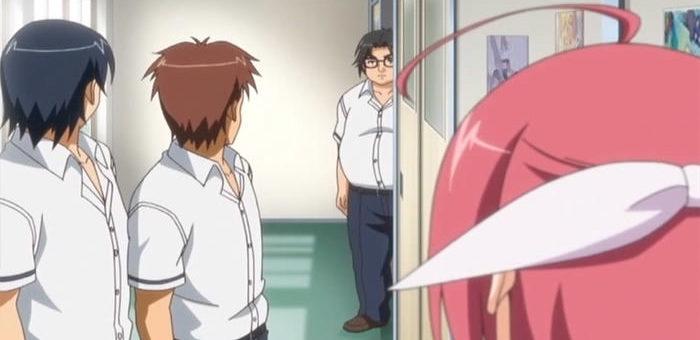 こんなことしたのは誰なの!?みんな村山ケンジを見る。