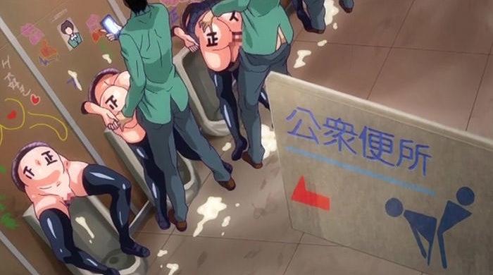 成績平凡生徒は誰でも使える公衆肉便器で射精