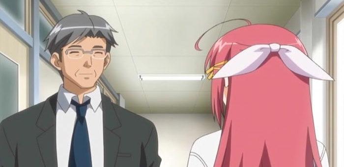 高樹慎二(上の2人姉妹の父親で学園の事務員で権力に弱い。)